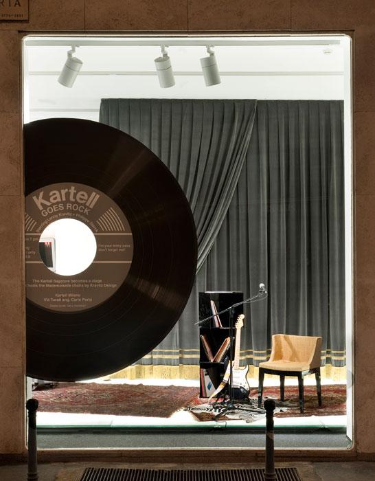Fuori Salone 2012 - Kartell goes rock