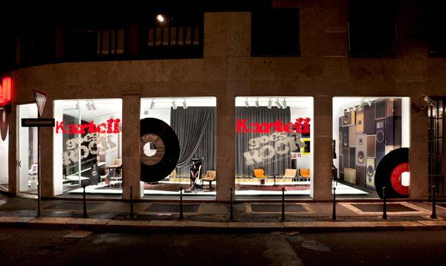 Fuori Salone 2012 - vetrine Kartell