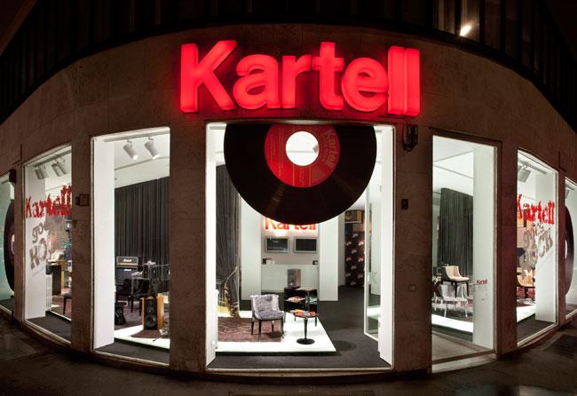 Fuori Salone 2012 - Kartelle negozio
