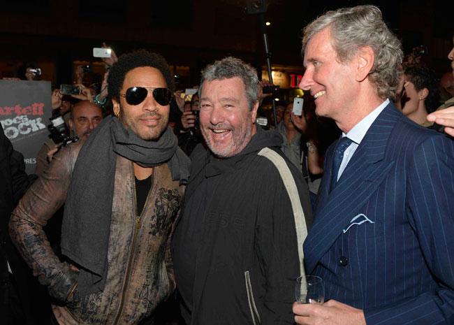Fuori Salone 2012 - Lenny Kravitz, Philippe Starck, Claudio Luti