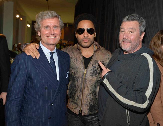 Milano accoglie Lenny Kravitz per Fuorisalone 2012