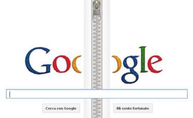 Google omaggia l'inventore della cerniera lampo
