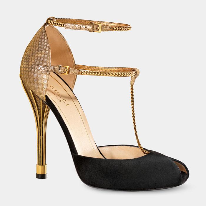 Gucci Scarpe Oro