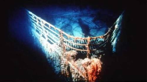I resti del Titanic