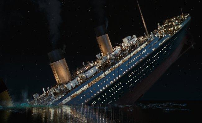 Il Titanic in tv