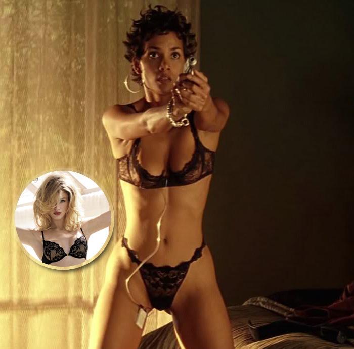 Halle Berry scena film Codice: Swordfish