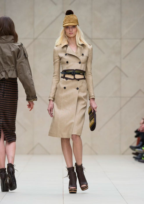 Trench donna Burberry