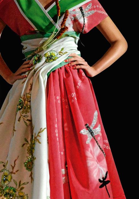Abito per Rouge Dior 028 Mazette