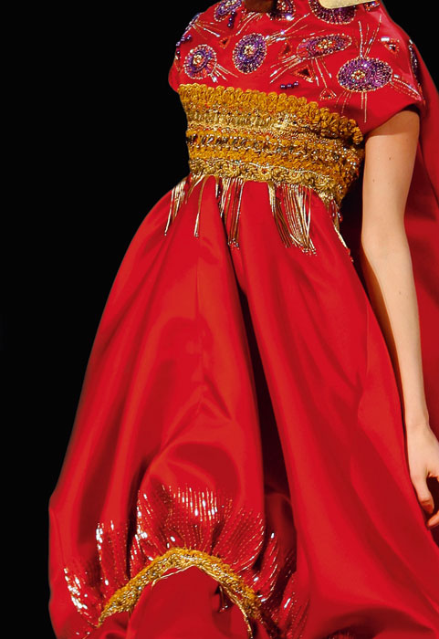 Abito per Rouge Dior 638 Rouge Flamboyant