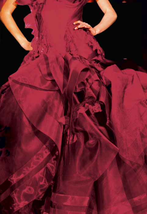 Abito per Rouge Dior 644 Rouge Blossom
