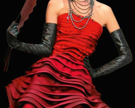 Abito per Rouge Dior 743 Rouge Zinnia
