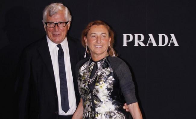 Patrizio Bertelli e Miuccia Prada, Prada