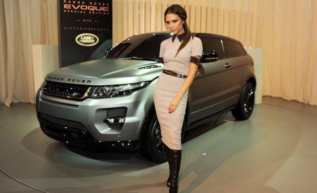 Victoria Beckham Range Rover
