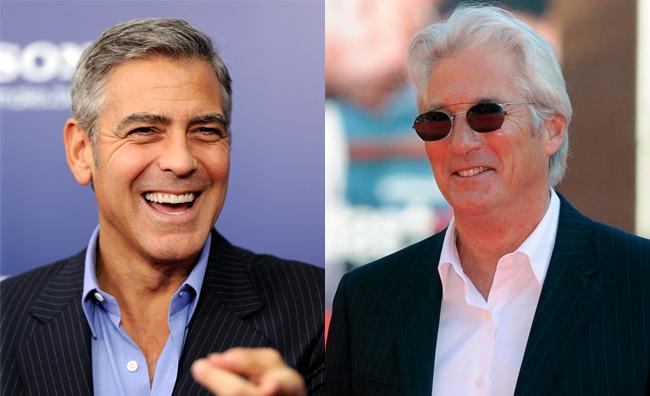 Gli uomini più amati dalle ventenni? Clooney e Gere