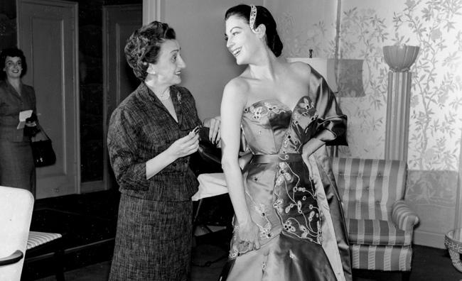 Micol Fontana con Ava Gardner