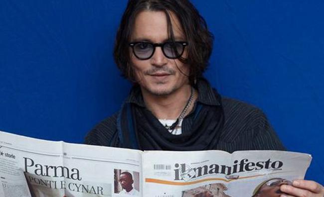 Johnny Depp Il Manifesto