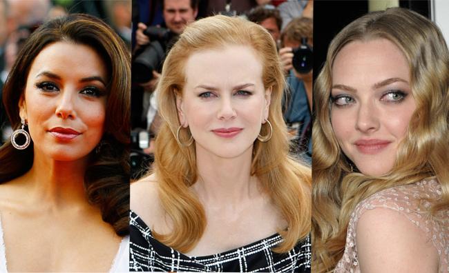 Eva Longoria Nicole Kidman Amanda Seyfried Marion Cotillard