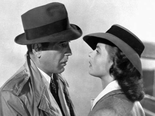 Humphrey Bogart e Ingrid Bergman - Casablanca