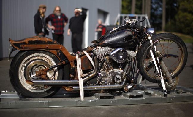 L'Harley Davidson diventa il simbolo dello tsunami in Giappone