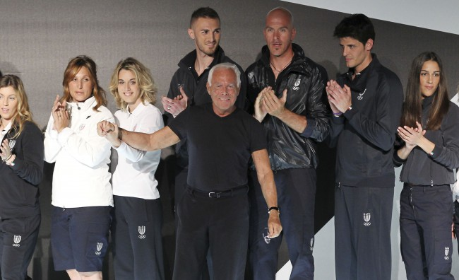 Londra 2012: Armani scende in campo con l'Italia
