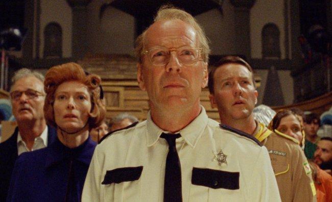 Moonrise Kingdom - Bill Murray, Tilda Swinton, Bruce Willis, Edward Norton