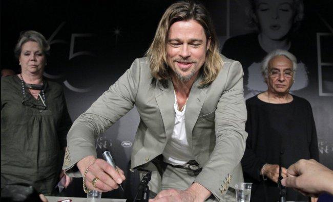 Brad Pitt conquista la Croisette