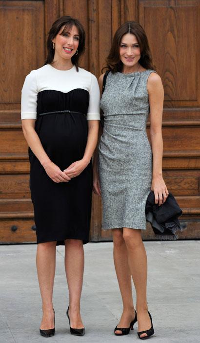 Carla Bruni e Samantha Cameron