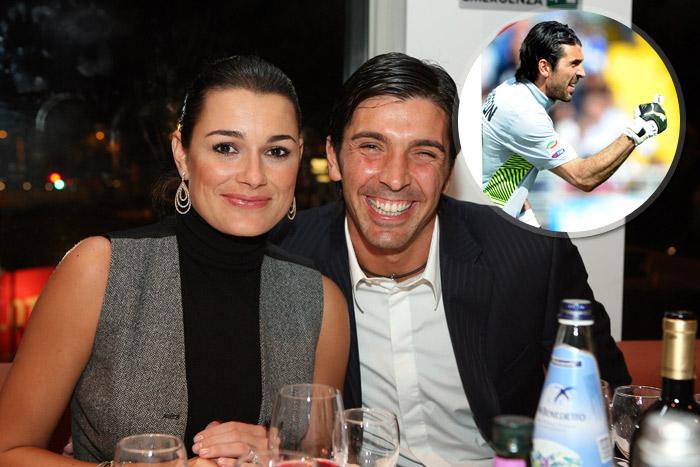 Il calciatore e la modella, la coppia scudetto
