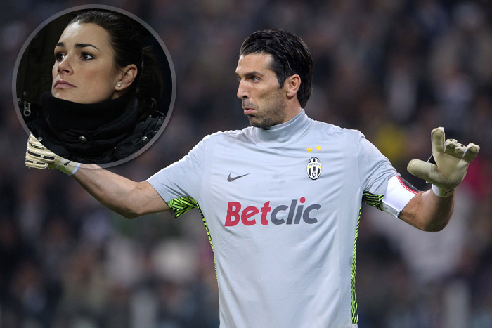 Buffon durante Juventus Inter