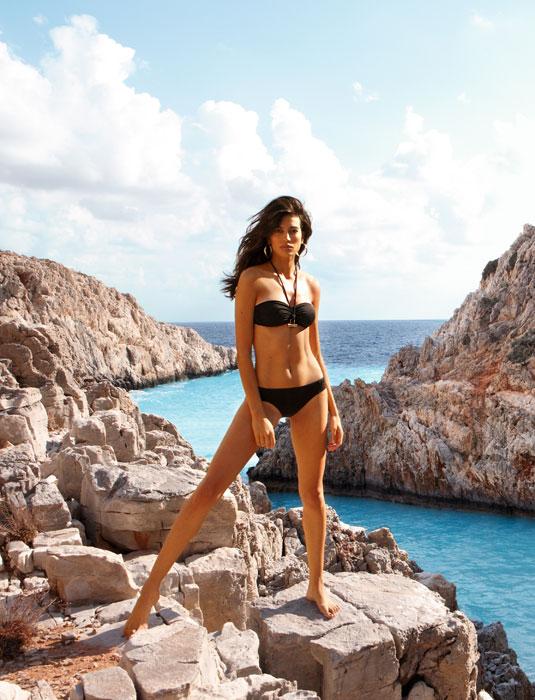 Bikini, trikini, interi. Ecco l\'estate Calzedonia - www.stile.it