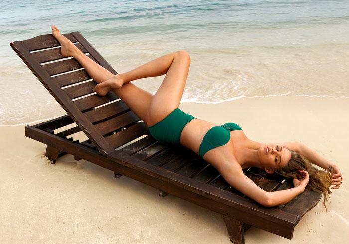 Bikini a fascia Calzedonia Sweet Shapes