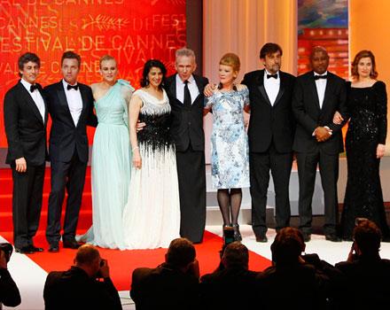 La giuria del 65esimo Festival di Cannes. Cannes 2012