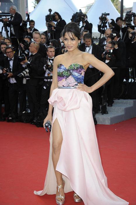 Freida Pinto in Louis Vuitton
