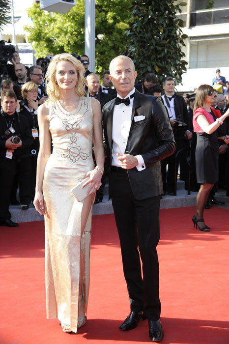 Jean-Claude Jitrois e Sarah Marshall