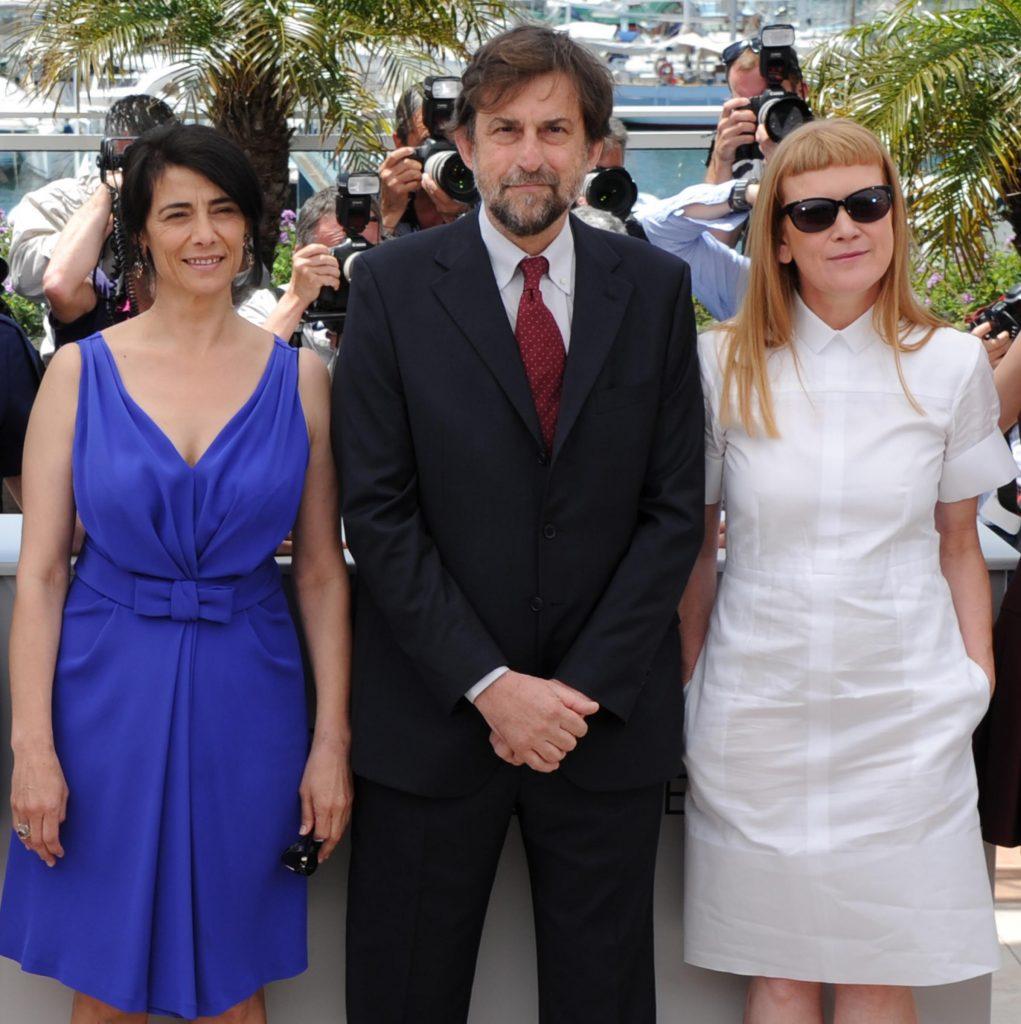 Hiam Abbass, Nanni Moretti e Andrea Arnold