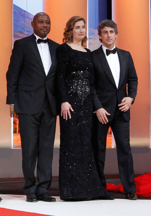Raoul Peck, Emmanuelle Devos e Alexander Payne