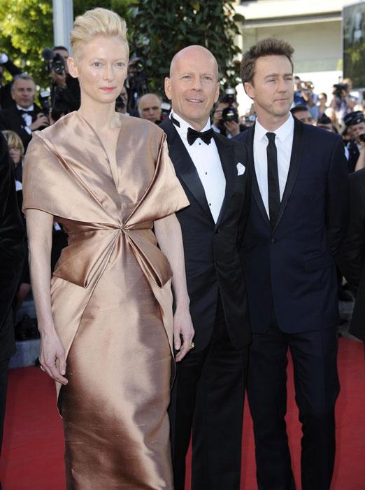 Tilda Swinton, Bruce Willis ed Edward Norton