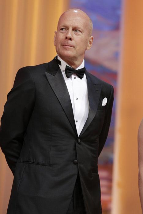 Bruce Willis in Giorgio Armani