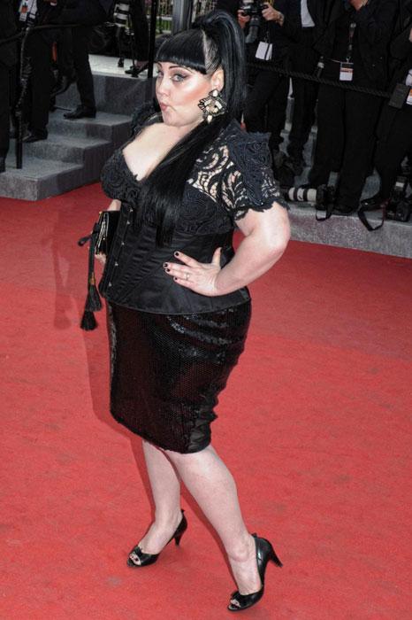 Beth Ditto in Gaultier Paris