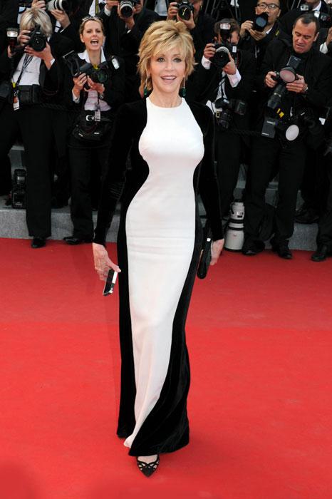 Jane Fonda in Stella McCartney