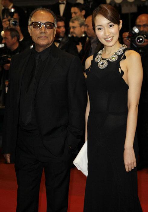 Abbas Kiarostami e Rin Takanashi