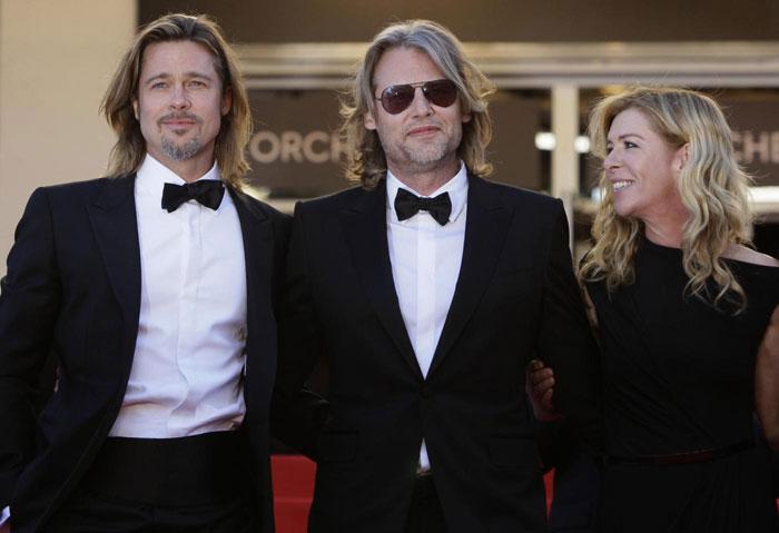 Brad Pitt, Andrew Dominik e Dede Gardner