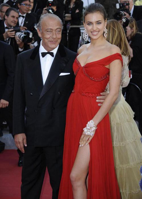 Fawaz Gruosi e Irina Shayk