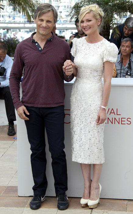 Viggo Mortensen e Kirsten Dunst