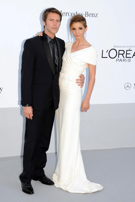 Emanuele Filiberto e Clotilde Courau in Giambattista Valli Haute Couture
