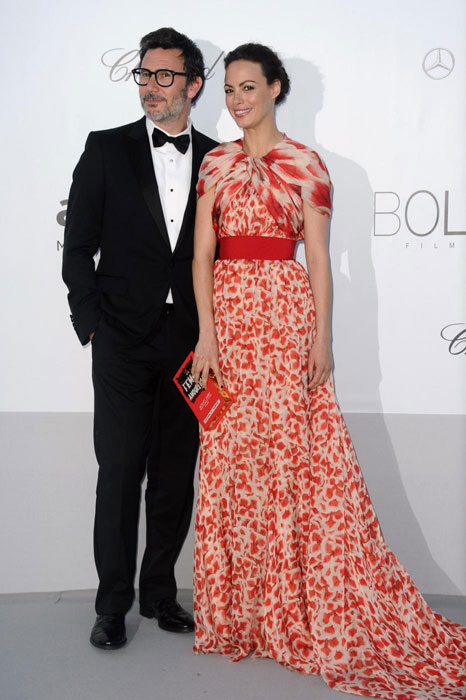 Michel Hazanavicius e Berenice Bejo in Giambattista Valli Haute Couture