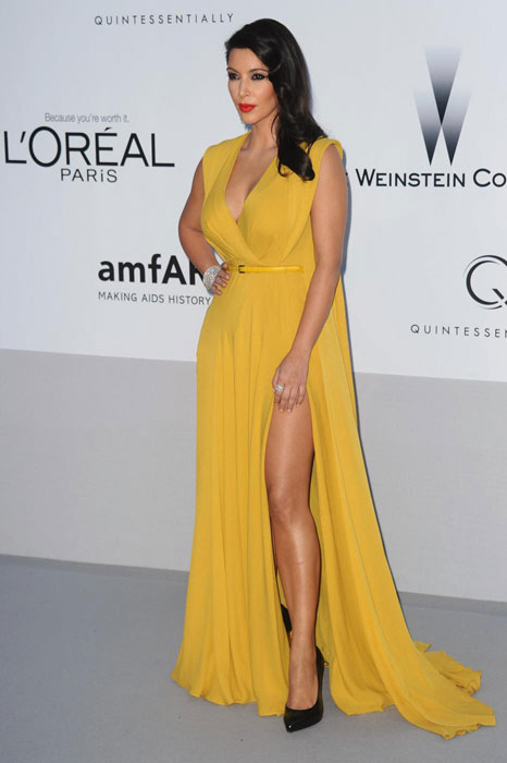 Kim Kardashian in Elie Saab