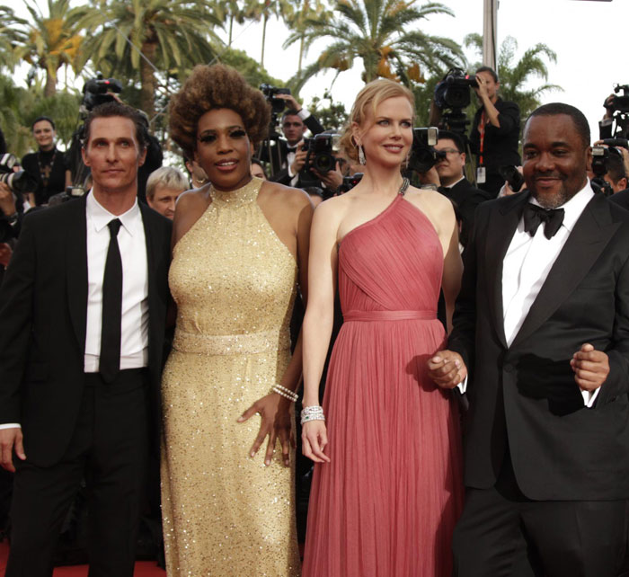 Matthew McConaughey, Macy Gray, Nicole Kidman e Lee Daniels