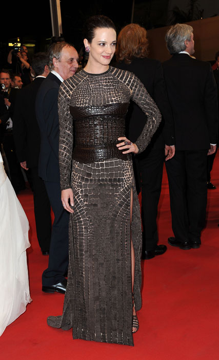 Asia Argento in Givenchy by Riccardo Tisci