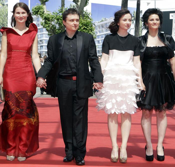 Christina Flutur, Christian Mungiu, Cosmina Stratan e Gina Tandura